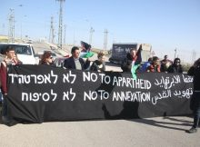 Palestinians protest 'apartheid road' in occupied West Bank