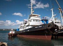 """سفينة """"ماري يونيو"""" تنقل 49 مهاجرًا لجزيرة """"لامبودوسا"""" الإيطالية"""