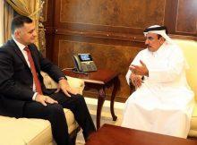 وزير المواصلات والاتصالات يجتمع مع نظيره العراقي