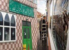 أعمال تخريب تستهدف 5 مساجد في بريطانيا (فيديو)