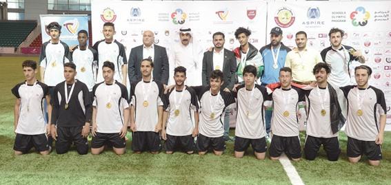 «الفلسطينية» تُتوّج بذهبية كرة قدم البرنامج الأولمبي المدرسي