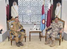 قائد القوات الجوية يبحث العلاقات العسكرية مع نظيره الفرنسي