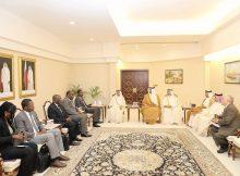 رئيس «البرلماني الإفريقي» يشيد بدور صاحب السمو في خدمة القضايا الإقليمية والدولية