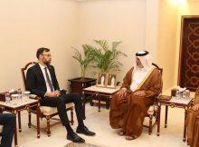 رئيس مجموعة الصداقة البرلمانية القطرية الأوروبية يجتمع مع سفير المجر