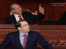 رئيس الوزراء التونسي ينسحب من جلسة حوار في البرلمان بعد احتجاجات