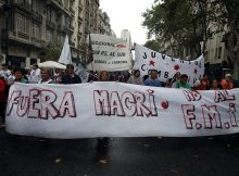 Thousands in Argentina march against austerity measures