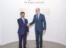 مذكرة تفاهم لعقد مشاورات سياسية بين وزارتي الخارجية في قطر ولاتفيا