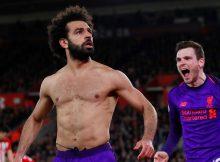 Footballer Mohamed Salah scores 50th goal for Liverpool