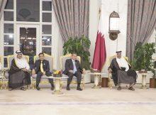 صاحب السمو يستقبل المشاركين في اجتماع حوار التعاون الآسيوي