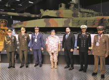 الغانم يعزز العلاقات العسكرية مع تركيا