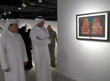 خمس فنانات قطريات يعرضن أعمالهن بالجمعية القطرية للفنون التشكيلية