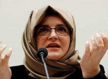 خديجة جنكيز للكونغرس: أطلب العدالة لخطيبي خاشقجي
