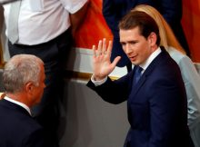 Sebastian Kurz riding high despite Austrian ousting