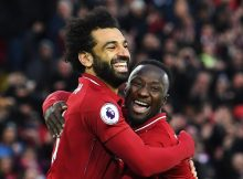 Salah on target as Liverpool go top of EPL