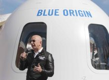 'It's time to go back to the moon': Jeff Bezos unveils plans for spaceflight
