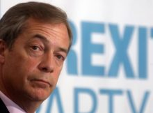 UK: Nigel Farage's Brexit Party leads EU election poll