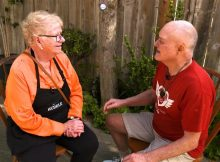 Inspired by a sick customer, a diner owner feeds those who can't make it to her restaurant