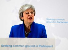 May's Brexit plan offers UK Parliament a vote on second referendum