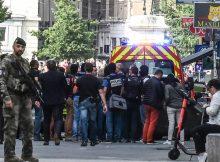 France: More than a dozen injured in Lyon explosion