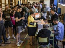 Europe Election polls: High turnout and a changed chamber