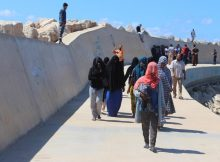 Libyan coast guard intercepts Europe-bound migrants