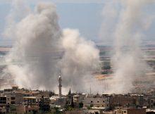 Syrian attacks on civilians continue amid rebel counterattack