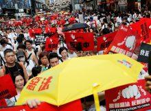 Hong Kong sees new umbrella protests over China extradition bill